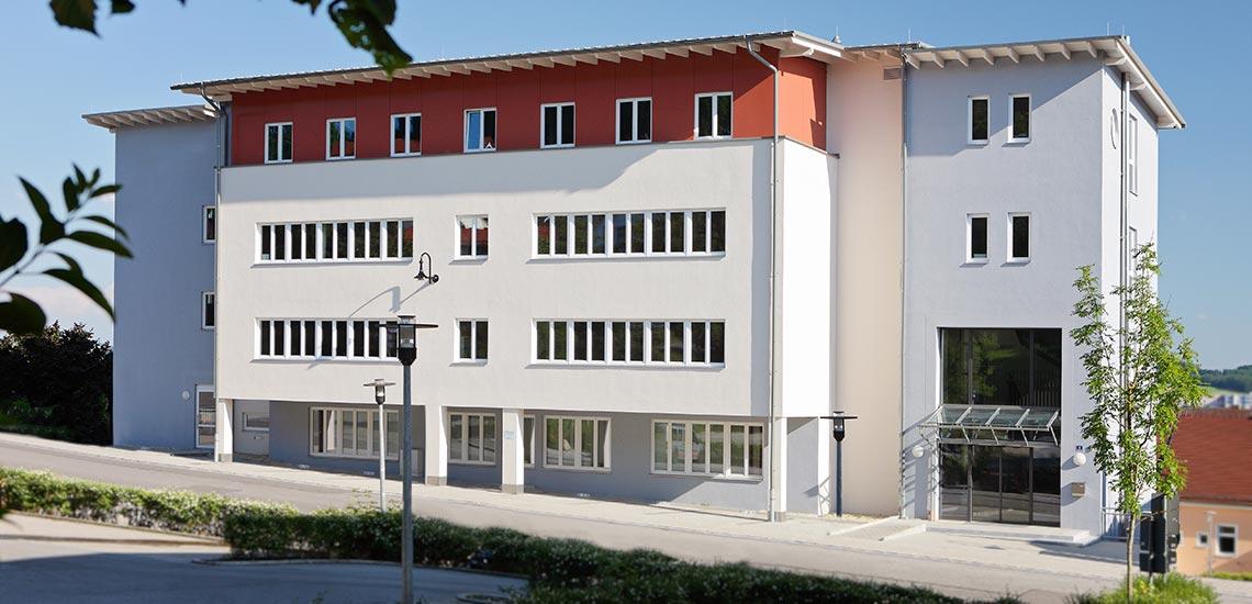 Außenansicht des KWA Bildungszentrum in Pfarrkirchen