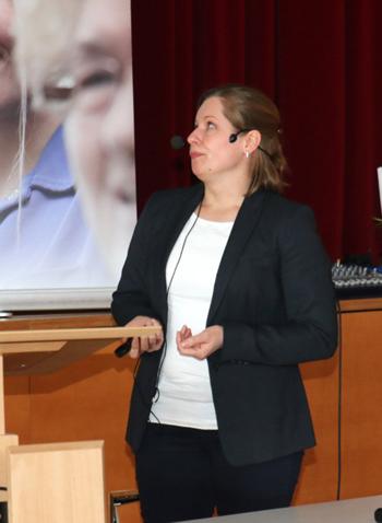 Janina Wenk, Wissenschaftliche Mitarbeiterin BODE SCIENCE Center in Hamburg