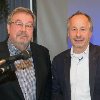 7. Pfarrkirchner Hygienetag, Schulleiter Karl-Heinz Edelmann und Dr. Hans Mattes