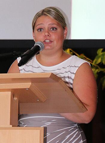 Katrin Klinglbrunner, Schulleiterin der Berufsfachschulen für Altenpflege u. Altenpflegehilfe am Standort Pfarrkirchen.
