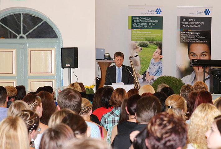 KWA Bildungszentrum Abschlussfeier 2014: Ansprache des Pfarrkirchener Bürgermeisters Wolfgang Beissmann
