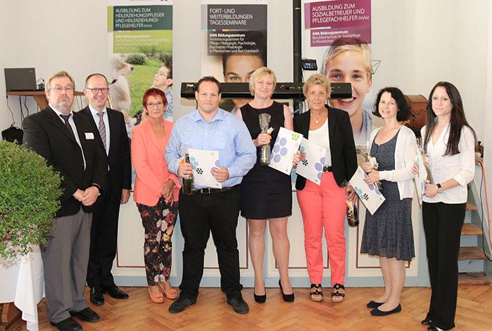 KWA Bildungszentrum Abschlussfeier 2014:  Weiterbildungsmodul zur Einrichtungsleitung nach AVPfleWoqG. Erreichter Titel: Leitung von Einrichtungen der Pflege und für ältere Menschen