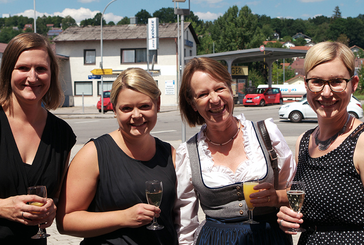 (Vo. li.) Elisabeth Schoske, Katrin Klinglbrunner, Desirée Deutsch, Susanne List