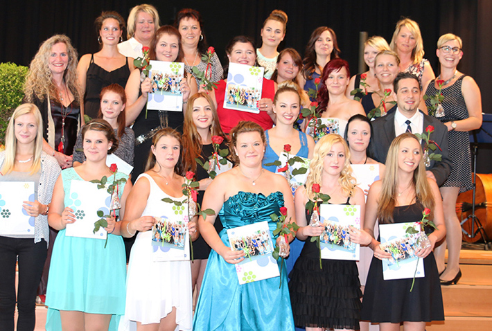 Abschlussfeier 2015 im KWA Bildungszentrum