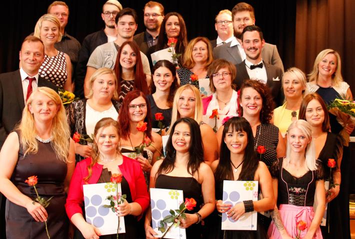 Abschlussfeier KWA Bildungszentrum 2017