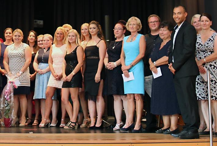 Einlage des Abschlusskurses Altenpflege.